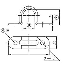 Скоба К252, К253, К254